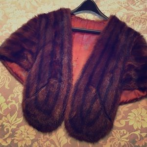 Jackets & Blazers - Fur Cape/Stole